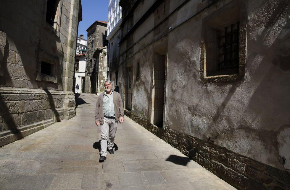 Torrente siente un especial cariño por el local de San Paio, 12 y lamenta su estado.