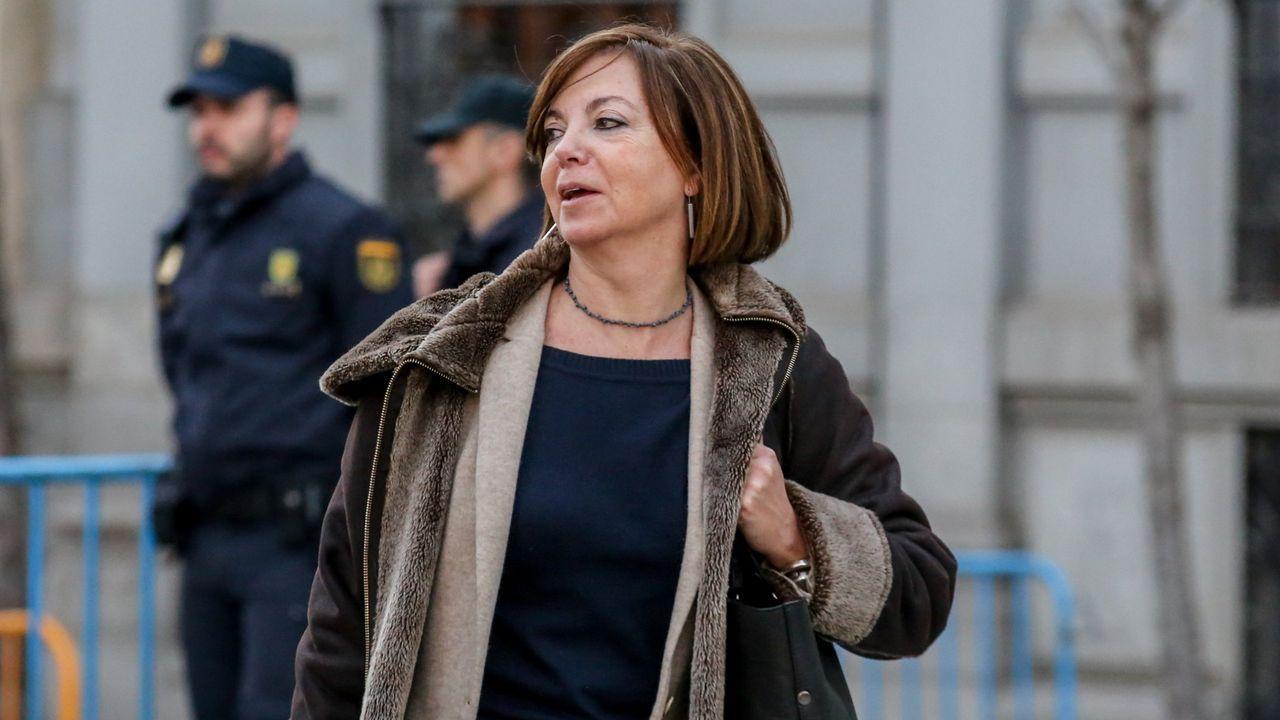 La exconsejera Meritxel Borrás ha sido condenada a 10 meses de multa, con una cuota diaria de 200 euros, y un 1 año y 8 meses de inhabilitación especial por un delito de desobediencia. Absuelta del delito de malversación.