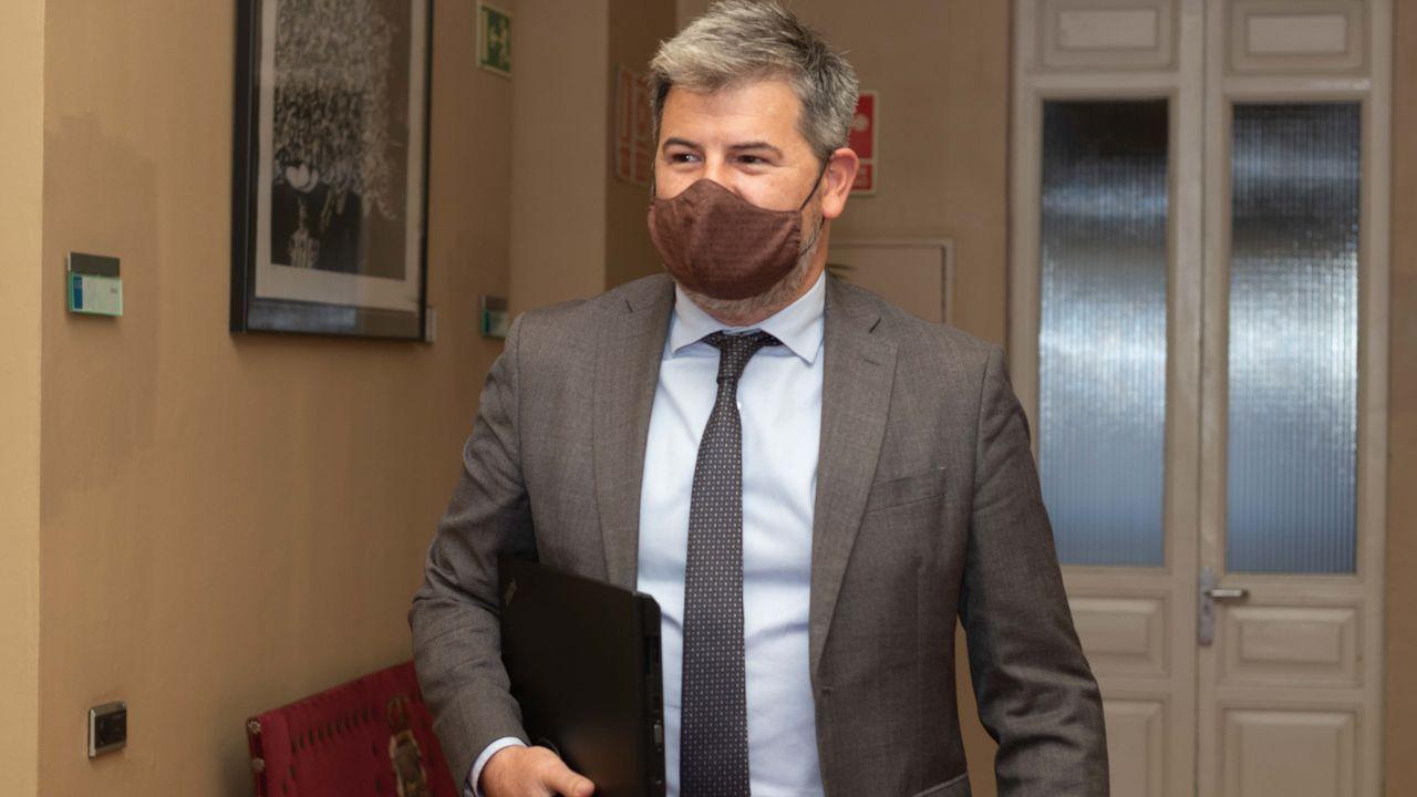 El secretario de Organización de Ciudadano Asturias, Sergio García