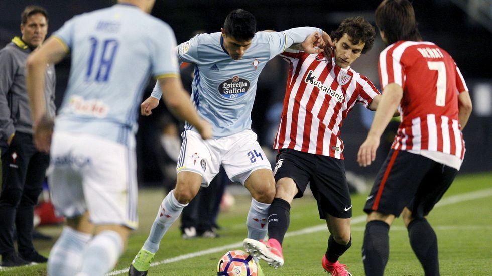 Celta - Athletic, en imágenes.Juan Mata