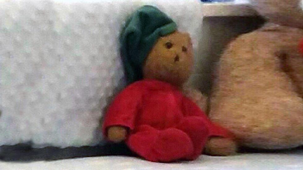El Manglar.«Peluchín», el muñeco desaparecido