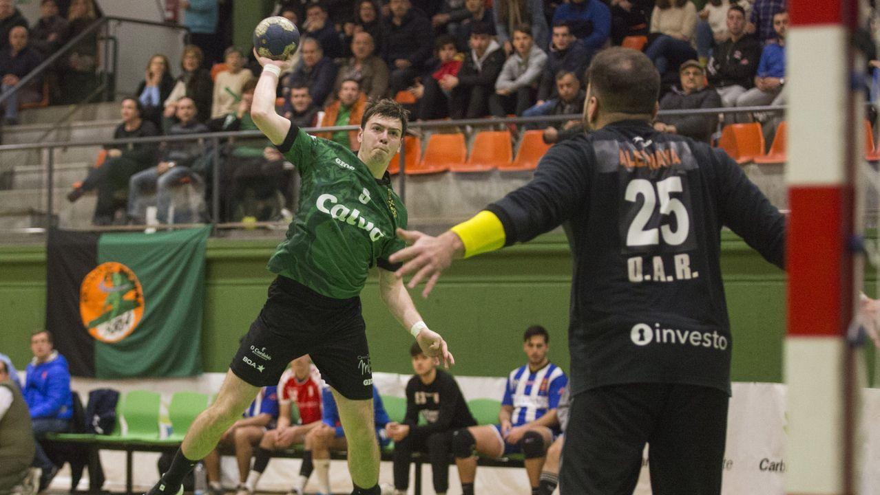 Javaloy, en el duelo contra Bisontes de Castellón