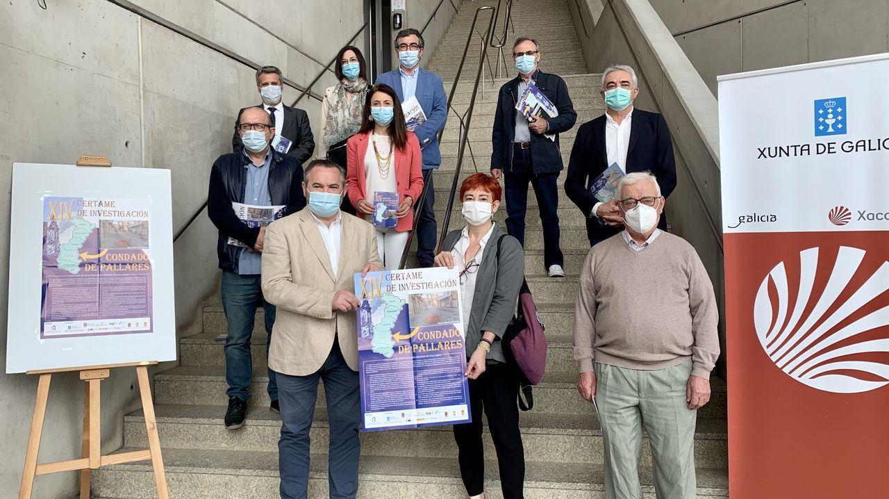 Turistas en Lugo, seguros ante el covid-19.Presentación do certame no edificio da Xunta
