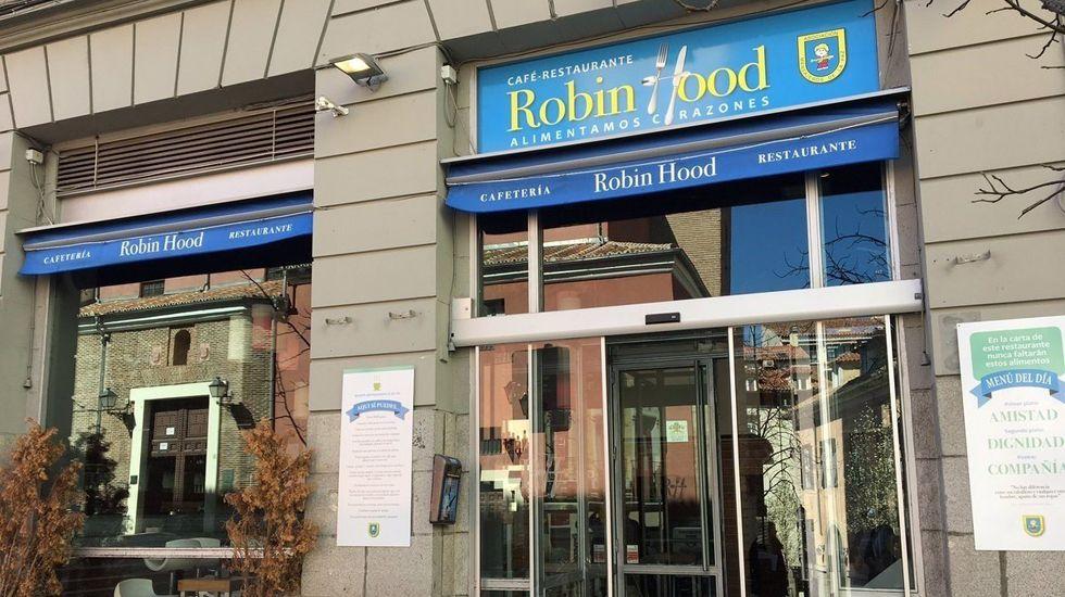 El nuevo restaurante Robin Food del padre Ángel en Madrid.El nuevo restaurante Robin Food del padre Ángel en Madrid