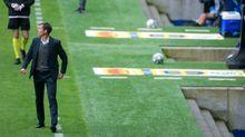 Ziganda, durante un encuentro del Real Oviedo