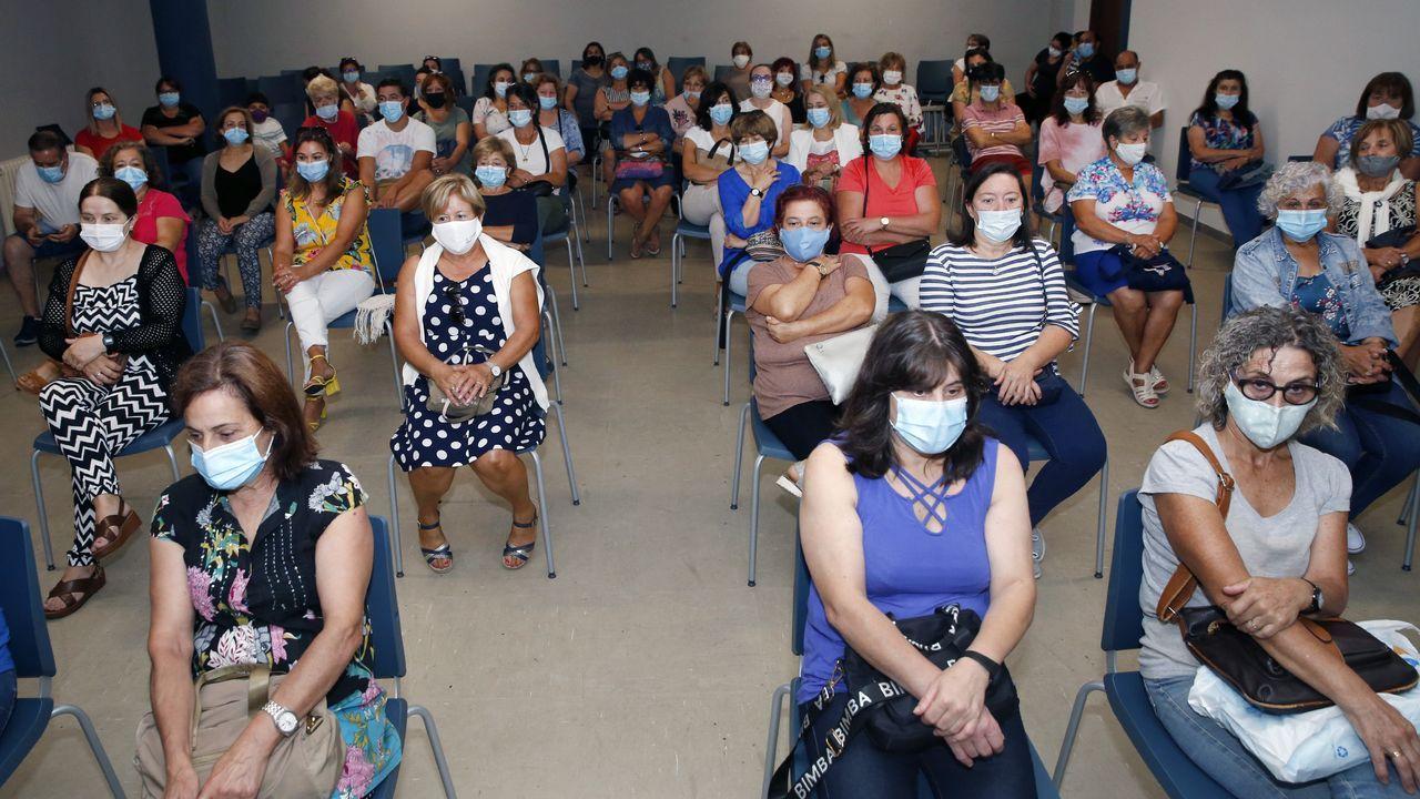 Jose Luis Abet, asesino de su ex-muller, ex-cuñada y ex-suegra en Valga vuelve al juzgado para una prueba de ADN.José Luis Abet, cuando fue puesto a disposición judicial