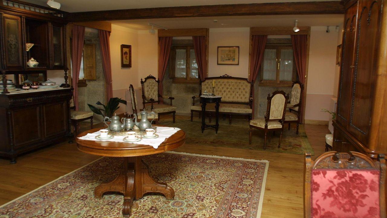 Pazo de O Cuadrante, en Vilanova de Arousa, hoy en diá casa-museo de Valle-Inclán.