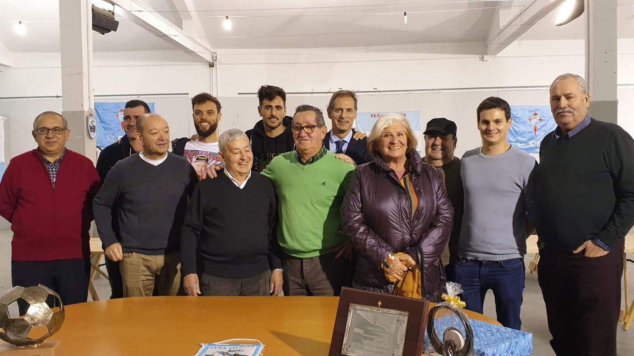 Celebración del 25 aniversario de la Peña Marusía de Moaña