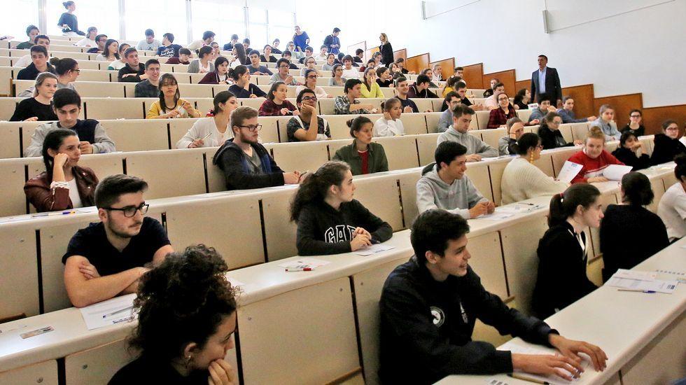 FP Innova, en imágenes.Examen de selectividad en Vigo el pasado mes de junio
