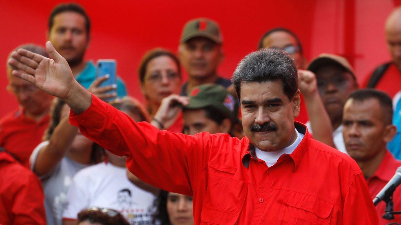 Guaidó: «Espero que la democracia española sea fuerte para hacer frente a la dictadura de Maduro».El diputado Gilber Caro fue excarcelado tras permanecer 51 días detenido
