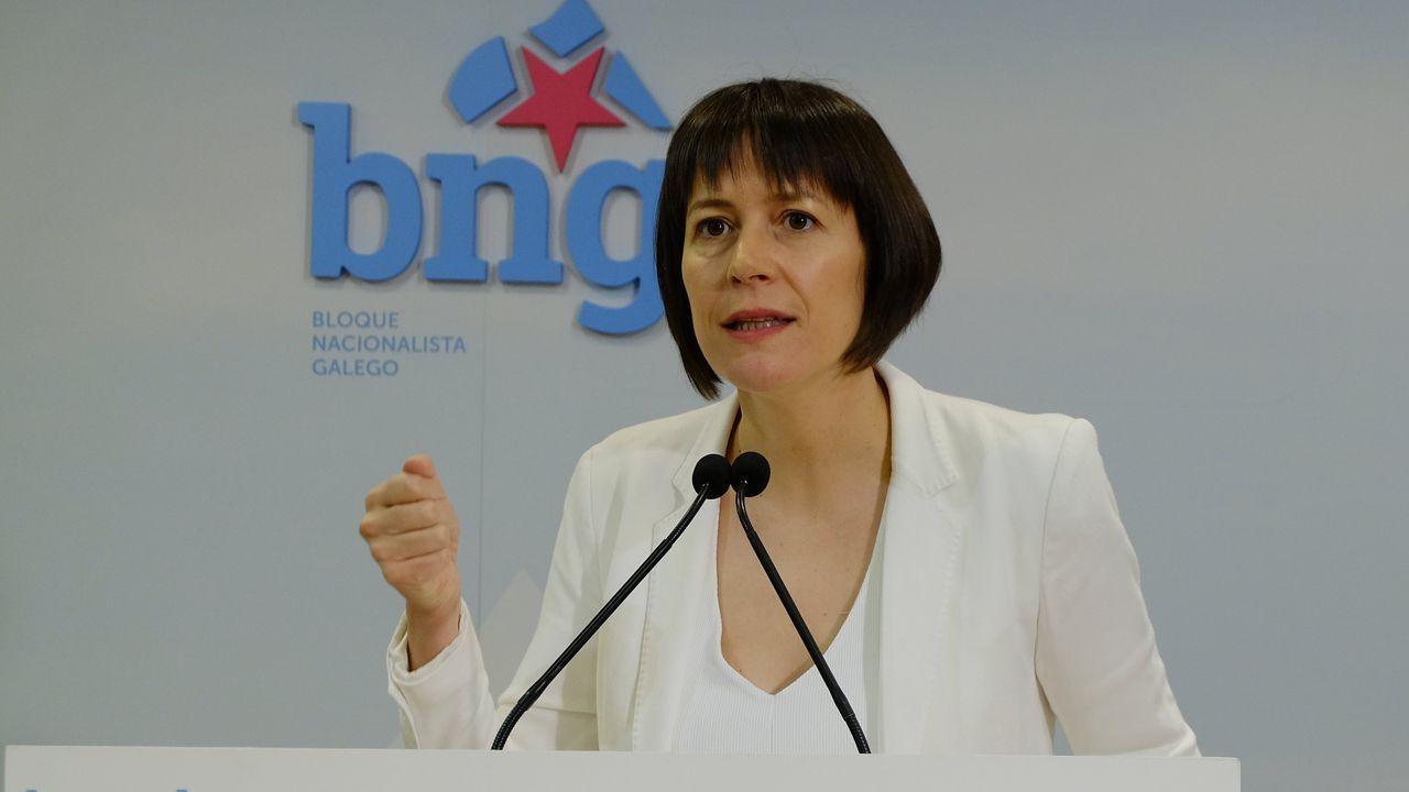 Ana Pontón, líder del BNG