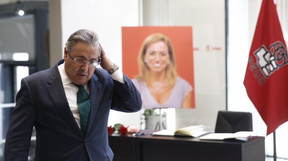 El ministro del Interior, Juan Antonio Zoido.