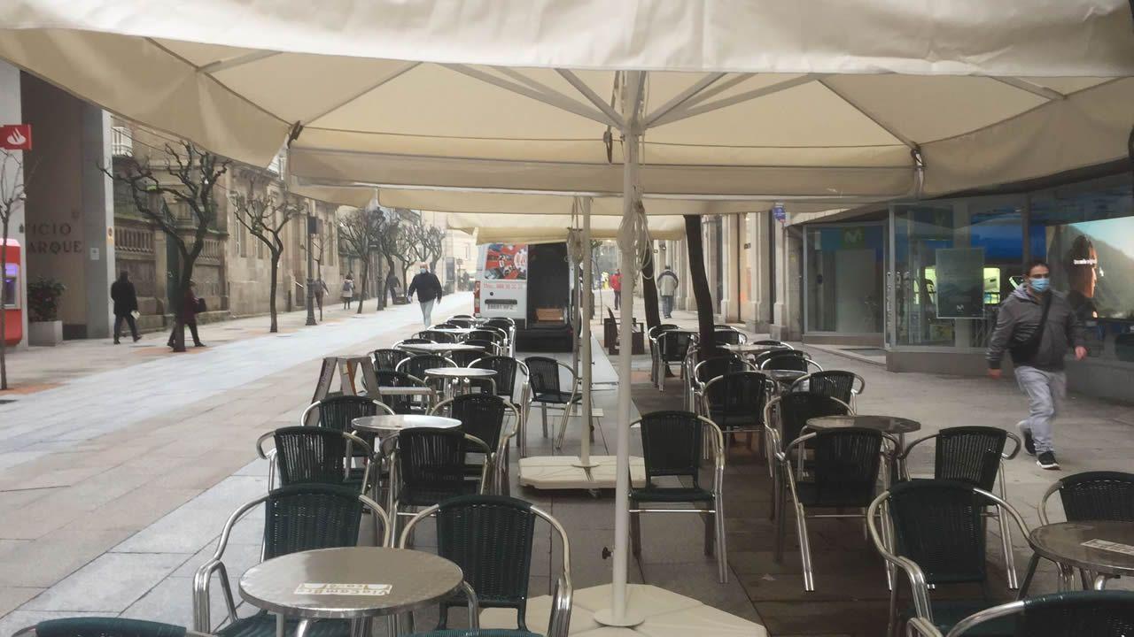 Instalación de terrazas en Ourense