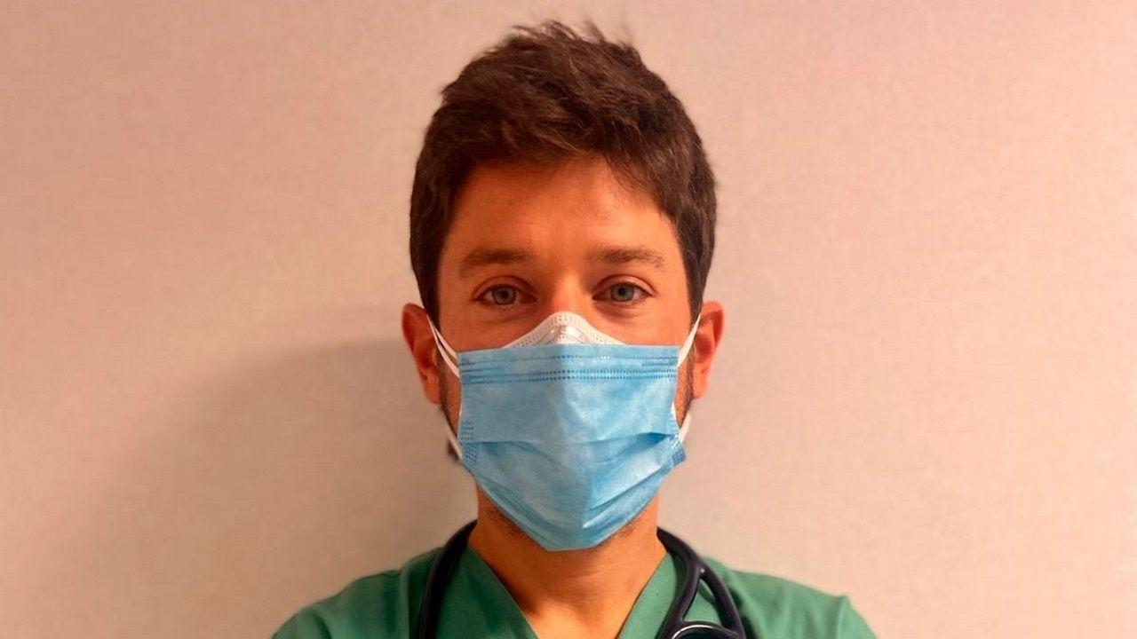 Ignacio Ramil, médico adjunto de la unidad de enfermedades infecciosas del Chuac, A Coruña.