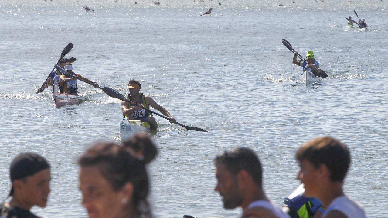 Más de doscientos palistas en Cabanas