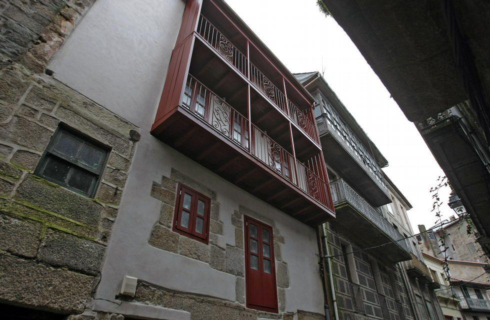 Ribadavia lleva años recuperando el casco histórico.