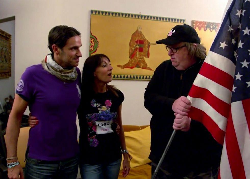 Juan Muñiz, durante la charla sobre el documental.