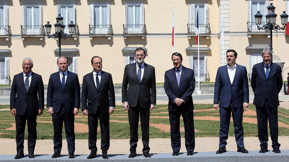 El sur de Europa se reúne en Madrid.Un corro en Yernes