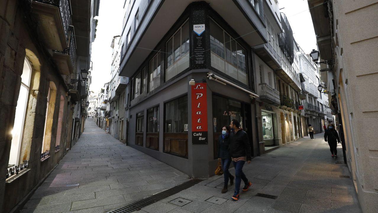 Viveiro, en imagen, y Burela, evitan por ahora el cuarto confinamiento, pero el Sergas vigilará su evolución epidemológica de manera «especial» en las próximas jornadas