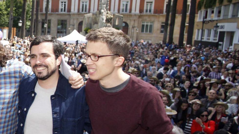Un acto de Unidos Podemos en Asturias