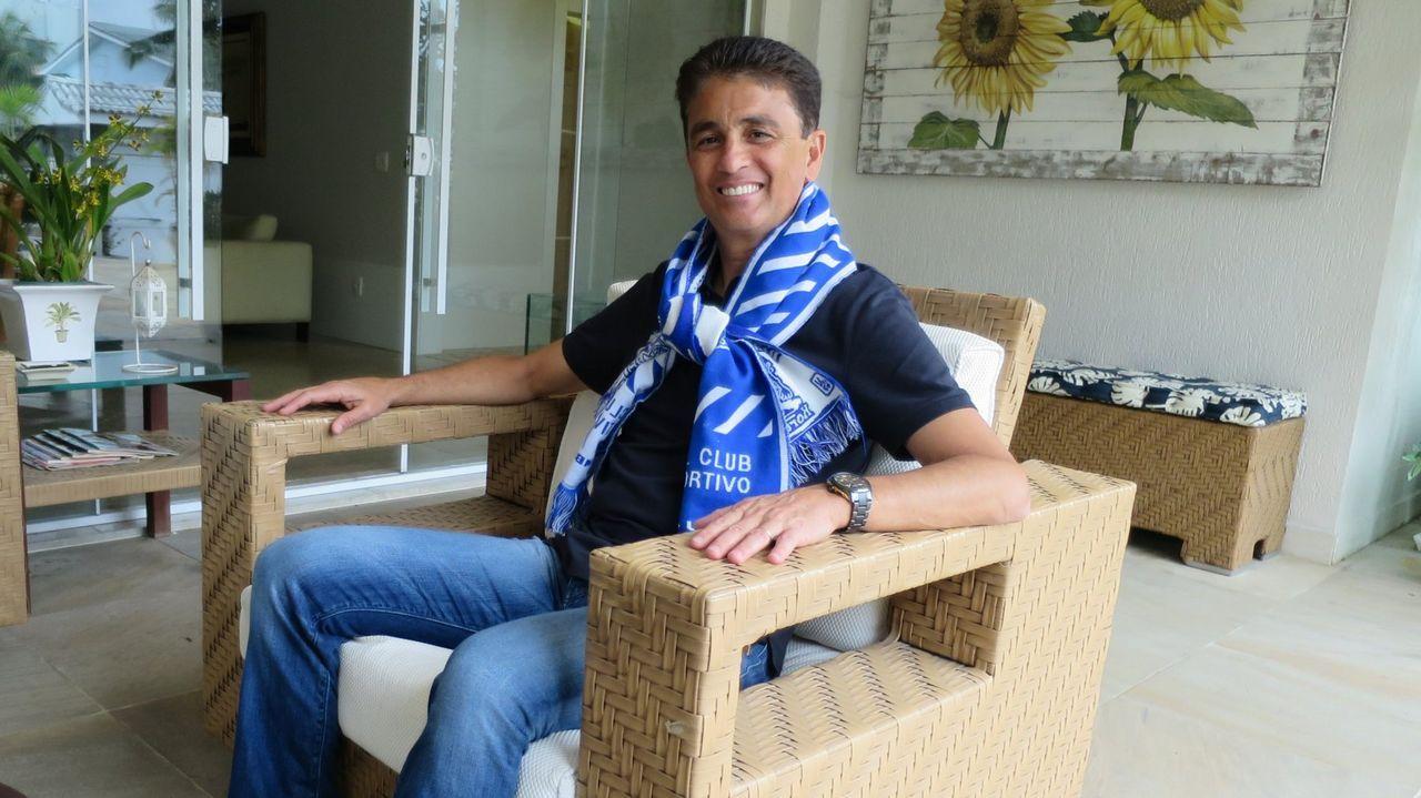 Bebeto: «Estoy muy triste por el Dépor, es el equipo de mi vida».Irureta, entrenador del Dépor.