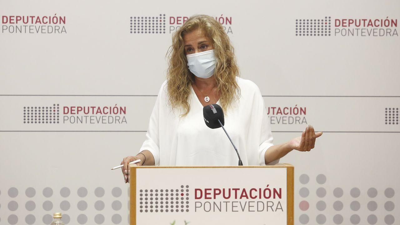Carmela Silva preside la Diputación de Pontevedra