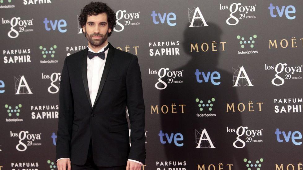 Las fotos de la gala de los Premios Goya 2017.Tamar Novas, en la ceremonia de los Goya del 2015