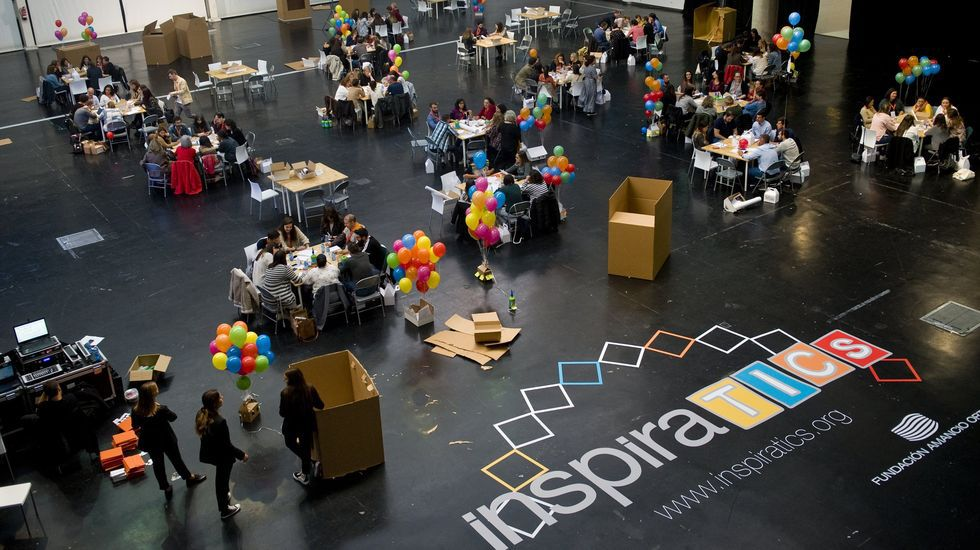 Los encuentros InspiraTICs demuestran el interés de los profesores gallegos por formarse en el uso didáctico de las TIC