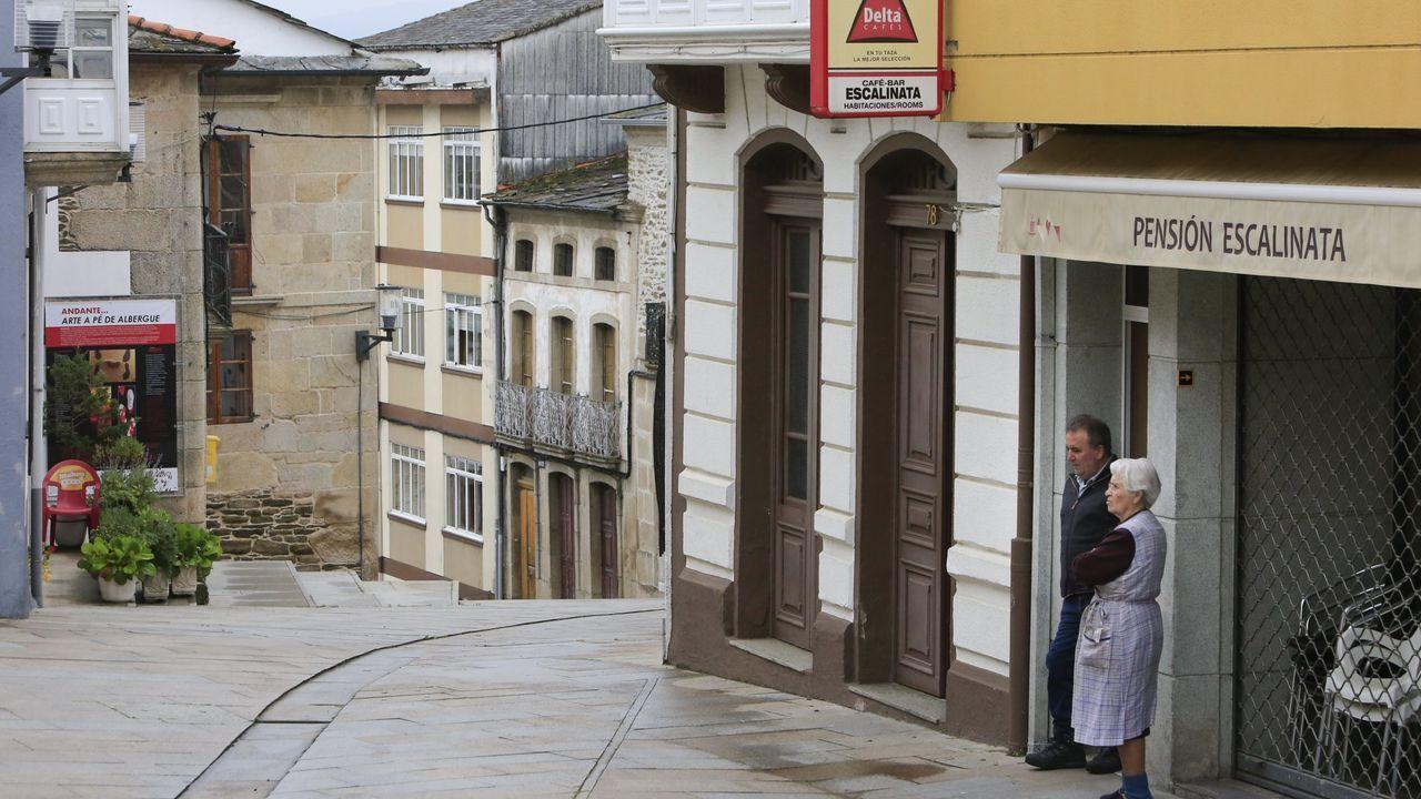 Foto de archivo de la Rúa Maior de Sarria