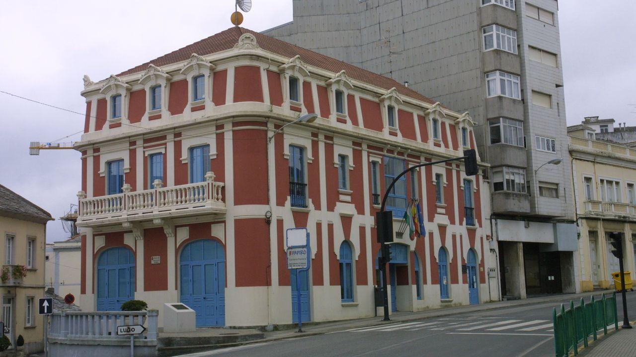 Foto de archivo de la Casa da Cultura de Foz