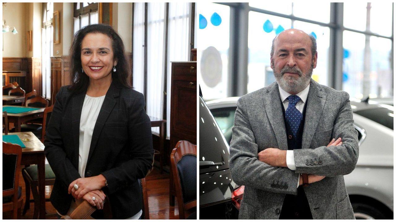 El estado de alarma queconfinó Barbanza.Susana Martínez Galdós, la actual presidenta, se enfrentará en las urnas a Alberto Vázquez el 25 de marzo