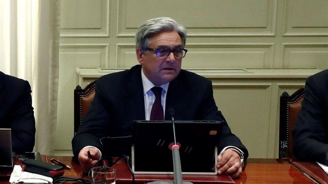 José Antonio Ballestero, vocal gallego del Consejo General del Poder Judicial, que este viernes gritó en Barcelona «viva el rey» en el acto de entrega de despachos a los nuevos jueces