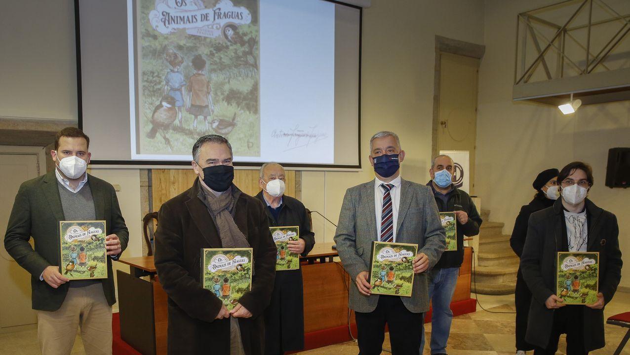 O novo libro de Fraguas foi presentado no Museo do Pobo Galego