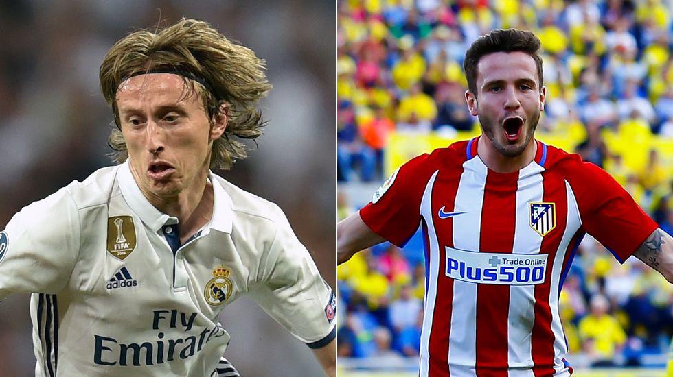 MODRIC - SAÚL. El croata es un arquetipo. Es superlativo. Hace ganador al Madrid con circulación, manejo de las contras y precisión. Saúl tiene más dentro.