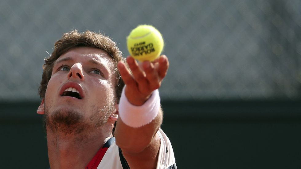 Carreño, en Roland Garros