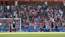 Partido del Lugo contra el Málaga en el inicio de la psada temporada