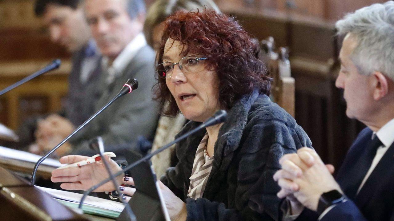 La presidenta de la Federación Asturiana de Concejos (FACC), Cecilia Pérez,