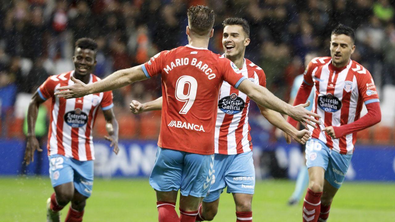 Así eran las tres víctimas de Igor el Ruso.Cucho Hernández celebrando uno de sus goles al Zaragoza