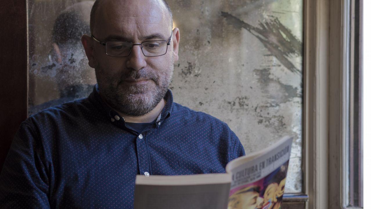 Oviedo .Víctor Lenore, autor de «Espectros de la Movida»