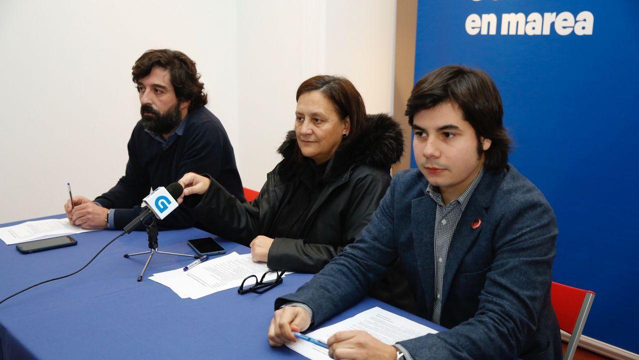 «Danse as condicións de seguridade e con completas garantías para levar a cabo a votación».Lucía Galán participó en un acto en A Coruña