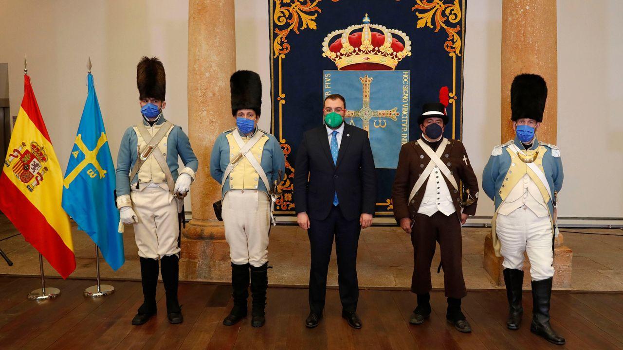 Acto del Día de la bandera de Asturias