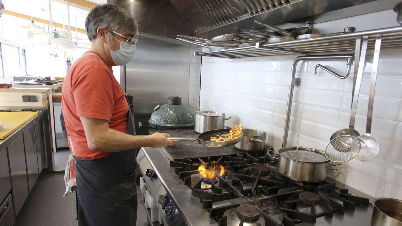 El restaurante Loliña cierra sus puertas.Presentación de la prueba de exteriores de la novena edición de MasterChef