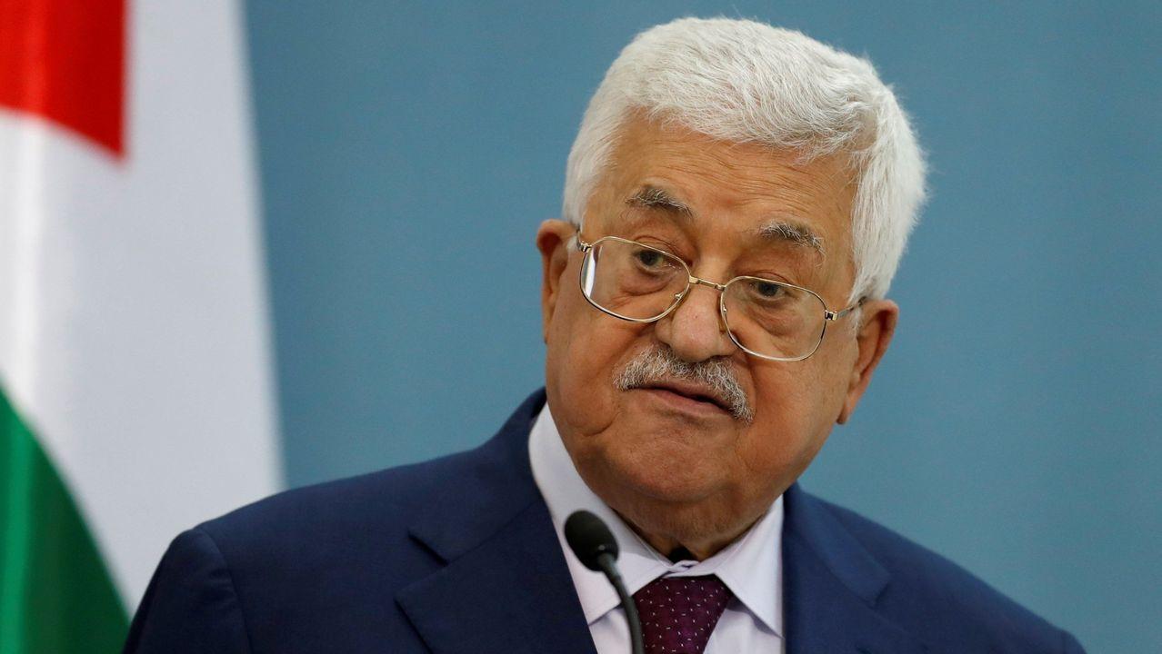 El presidente de la Autoridad Nacional de Palestina, Mahmud Abbas.