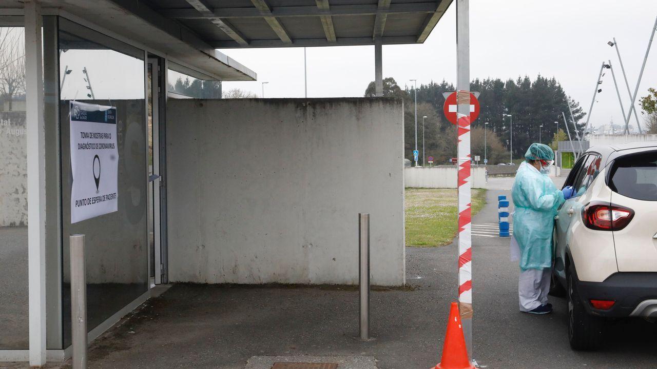 Zona del HULA en la que se realizan los test rápidos