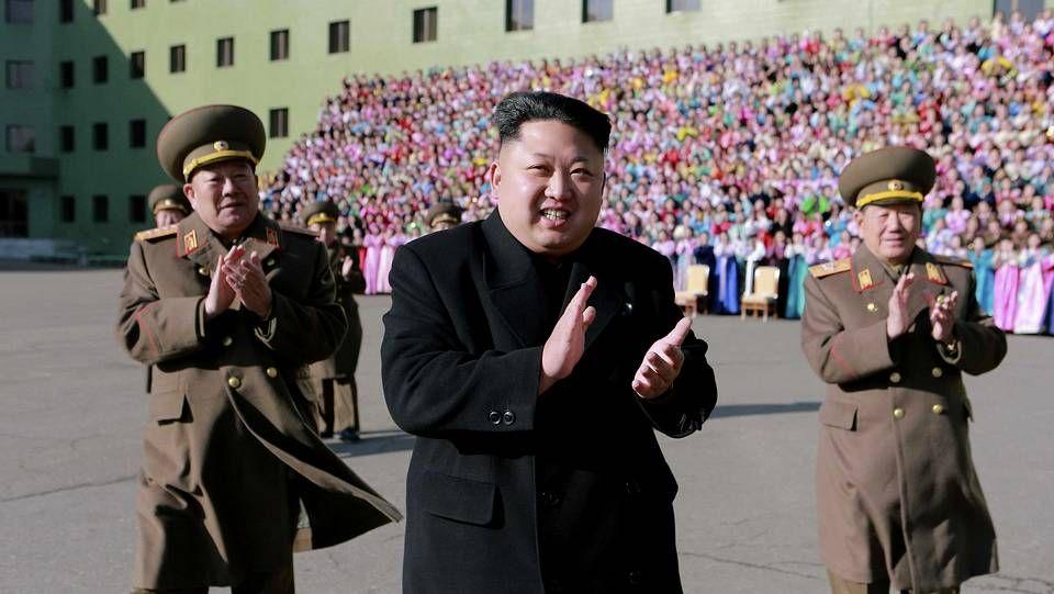 El líder de Cora del Norte, Kim Jong-Un