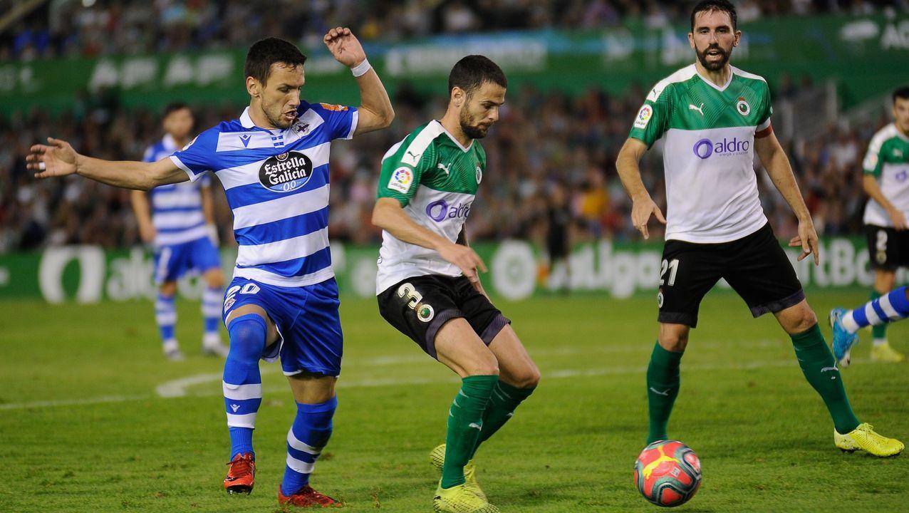 El Deportivo se juega medio campeonato el próximo jueves contra el Racing de Santander