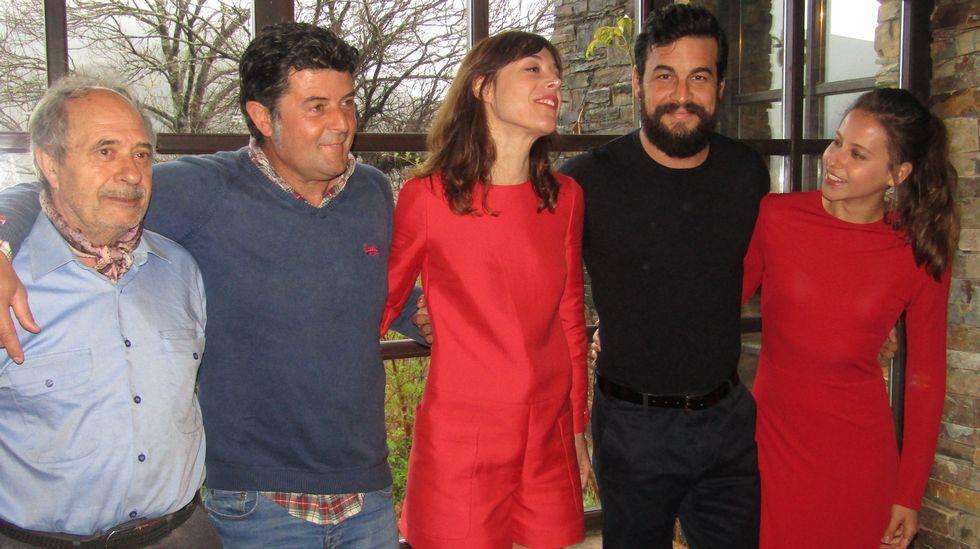 Alejandro Díaz Castaño y Vicente Domínguez, en la presentación del ciclo FICX/Laboral Cinemateca