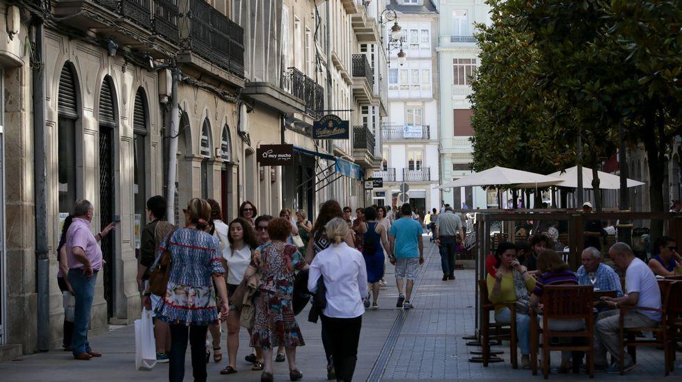 A Raíña. Es la calle más exclusiva de Lugo. El metro cuadrado de alquiler comercial se sitúa en 480 euros.