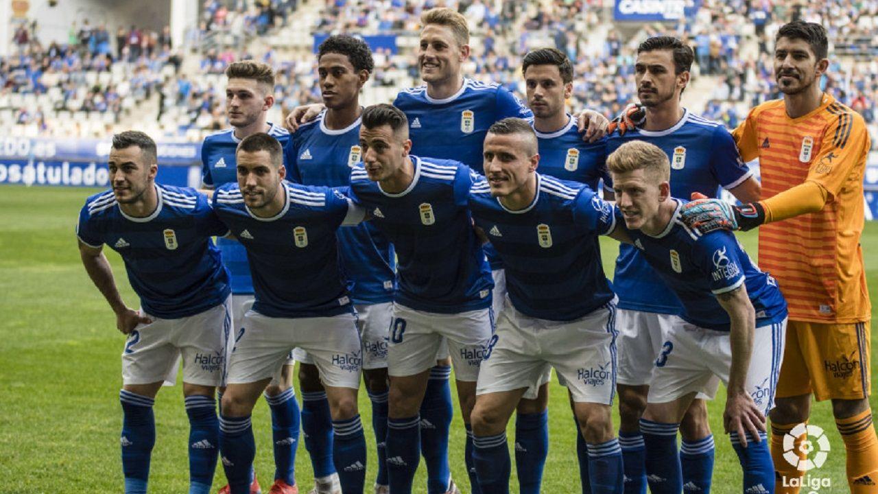 Alineación del Oviedo ante el Lugo