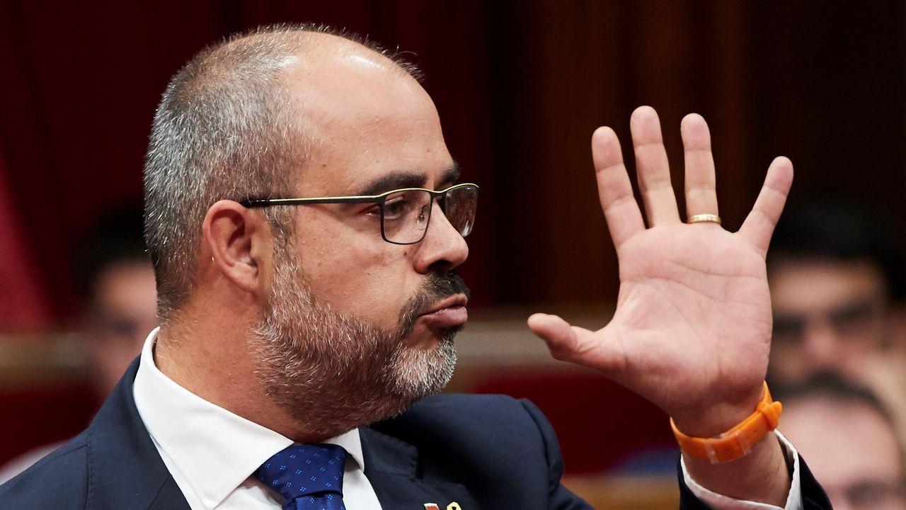 El consejero del Interior catalán, Miquel Buch